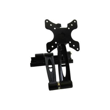 CARAVAN MOTORHOME TV WALL BRACKET (75mm-422mm) with ANTI SHAKE locking pin boat